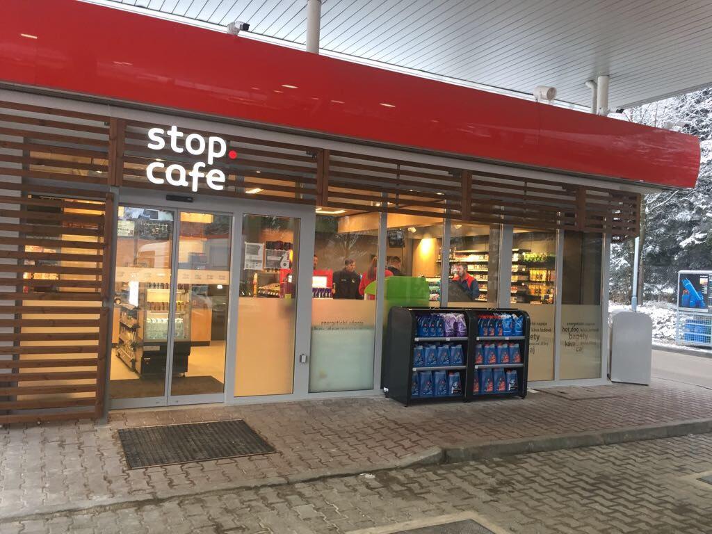 Stop cafe - Benzina