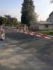 Přechod v obci Dubany