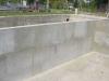Stěna před aplikací izolace Waterfin PV