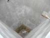 Oprava provedena TORKRETEM s vrchní izolací Waterfin PV